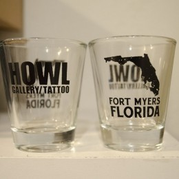 HOWL Shot Glass
